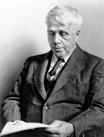 Robert Frost in a 1941 photograh. (Library of Congress photograph)